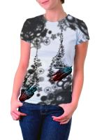 Reaching out T-shirt 2 by vodoc