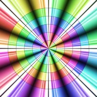 Bright Colored Target by Humble-Novice