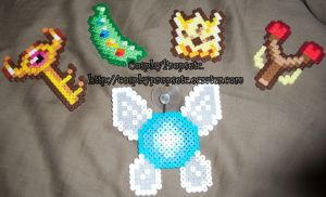 Chibi Link boss chest items by CosplayPropsEtc