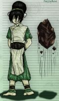 ATLB: Toph's Grin by sazzykins