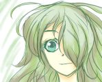 Green Girl~ by Saraca-xx