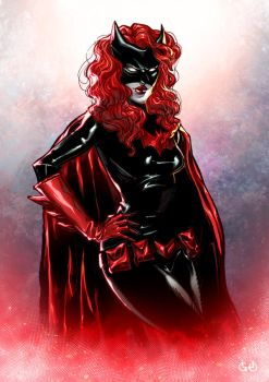 Batwoman by Igloinor