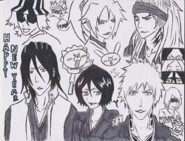 BLEACH: goodbye 2012 by jaydz-05