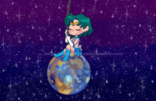 Sailor Mercury Wrecking Ball by Mighty-Morphin-Mimi