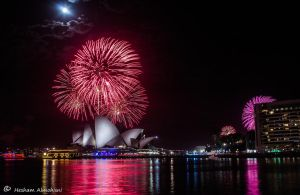 Sydney 2013 Firework by Al-Msafer
