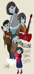 Marceline: everything stays by BrokenHappiness