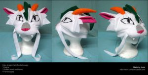 Haku dragon hat by Neon-Juma