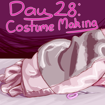 Prompt 28: Costume Making by WaapFu