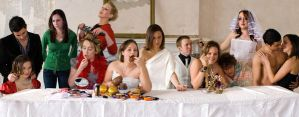 The Last Supper 7 Deadly Sins by Jezobel