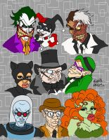 Bat-Baddies by JoJo-Seames