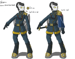 Nathariel - Anthro officer gear by Keilink
