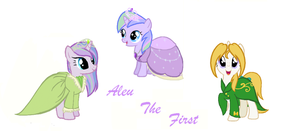 GIFT:Aleu the first: Once upon a filly... by Azure-Art-Wave