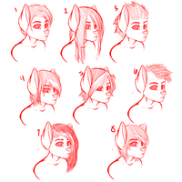 Jackson hairstyle doodles  by BlushyLittleLucy