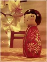 Kokeshi doll by unconventionalsenshi