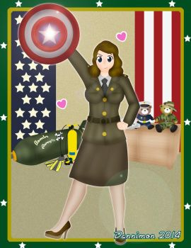 Peggy Carter: Agent of S.H.I.E.L.D. by DannimonDesigns