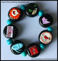 Custom Musicals bracelet IV by citruscouture