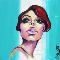 Painting from a Mimix work by avacreat