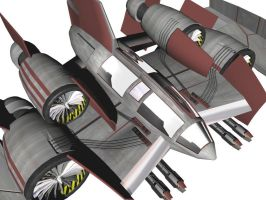 Fighter-Bomber - Textured by Claevius