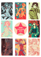 Tumblr color palette meme by uchihakagura1