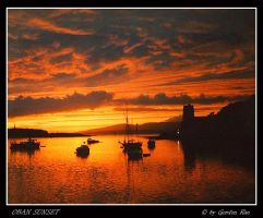 OBAN SUNSET by gordonrae
