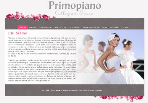 Layout for a new Website by AuraRinoa