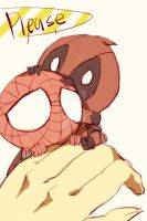 Spideypool94 by LKiKAi