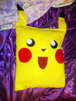 Pikachu Pillow by jynxgirl