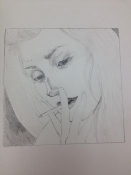 First Drawing Study by R3NU
