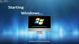Windows Seven Bootscreen by solution4you