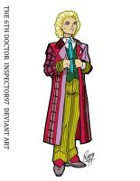 The 6th Doctor by Inspector97