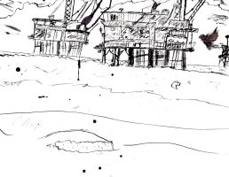 Oil Rigs by Atomic-Taco