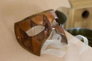 Masquerade Leather Mask by OsborneArts