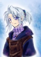 FF3 DS - Luneth by lumineux