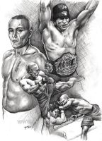 Georges St. Pierre by Alleycatsgarden
