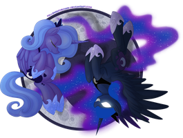 Princess Luna - Guardian of the Night by FallenInTheDark