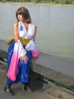 FFX: Waiting For Tidus by Ninifee-chan