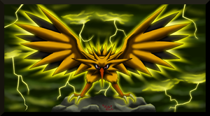Pokedex Projekt Zapdos by LuckyLucario