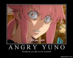 Angry Yuno... by AriAmused-Drawings