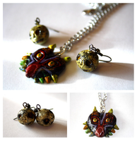 Majora's Mask Jewellery set by fruits-basket-head