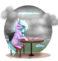 [G] Rainy Day by OhHoneyBee