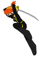 April in training: ninja varient by author92