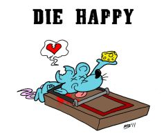 Die Happy by monjava