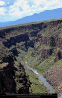 Rio Grande Gorge 10 by DamselStock