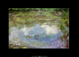 Claude Monet's Water Lillies (34/366) by FoxInShadow