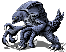 Godzilla: Orga by Swords-and-Tequila