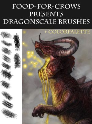 Dragonscale Brushes For Supporters by Food-For-Crows