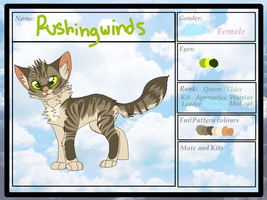 RUSHINGWINDS | Application | SotC by rainwolfeh