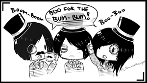 500 4 THE BUM-BUM by iCupcakeCannon