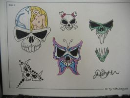 Tattoo flash 3 by 44anarchy44