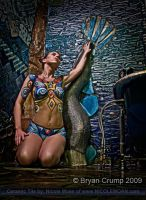The Mermaid on the Wall by thebryancrump
